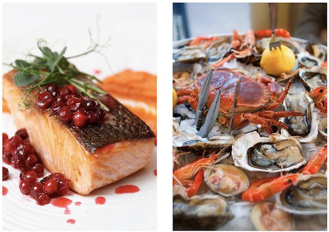 restaurant le havre spécialisé fruits de mer