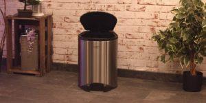 poubelle automatique 30l